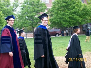 The end of formal education. Doctoral Graduation, University of Pennsylvania, 2013