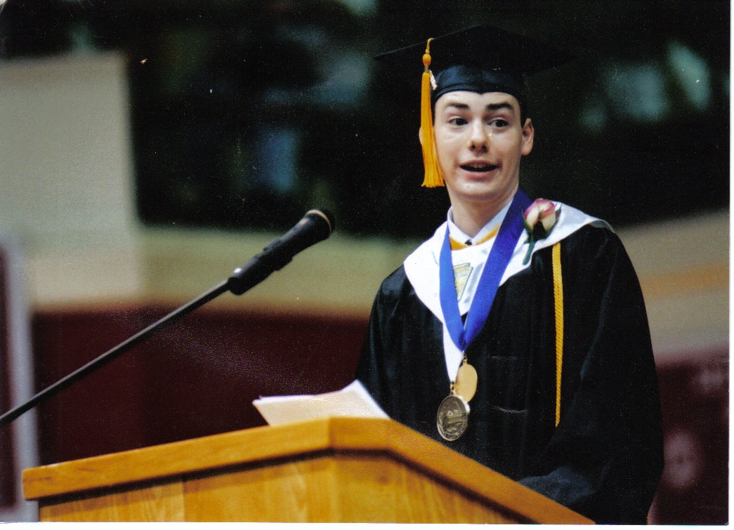 valedictorian Valedictorian definition: a valedictorian is the student who has the highest marks in their class when they | meaning, pronunciation, translations and examples.