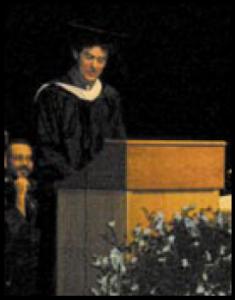 """Duke commencement address, """"Finding our Porpoise:. 2005"""