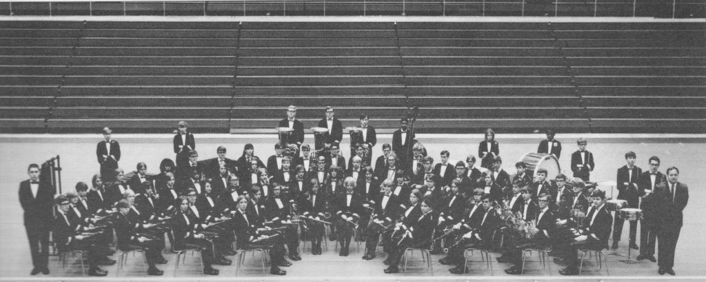 1969-70 Holmes Band played at the Kentucky Music Educator's Association (KMEA) convention, the National (MENC) Convention in Chicago and as the Honor Band (Grand Champion previous year) at Virginia Beach Competition. I am 2nd chair clarinet.